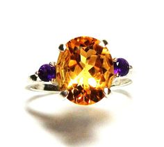 I Spy With My Little Eye... Citrine for Success and Success for Citrine by Lisa on Etsy