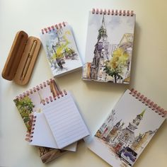 Carnets d'écriture ou de croquis, illustrés par Raynald Murphy, SCA Notre Dame, Sisters, Notebooks, Sketch, Sister Quotes