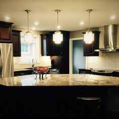 We're happy when the customers happy, and we LOVE when they send us photos of their new lights! Light Project, Kitchen Reno, Mini Pendant, Kitchen Lighting, Lights, Mirror, Instagram Posts, Happy, Projects