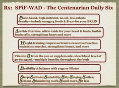 Prescription for thriving in health and life: SPiF-WAD Centenarian, Weight Training, Natural Remedies, Utah, Healthy Living, Presentation, Plant, Strong, Goals