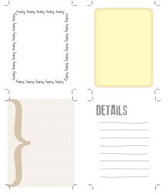 Free Journaling Cards for Project Life from The Creative Place #printable #projectlife #freebie