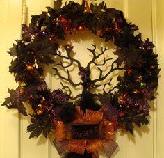 Samhain Wreath by ~Midnight-Crafts on deviantART