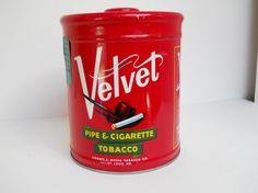 Vintage Liggett & Myers Velvet Pipe by dragonflycountryshop, $19.99