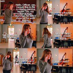 "#Glee 6x05 ""The Hurt Locker, Part two"" - Rachel"