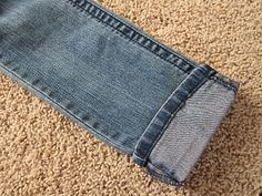 How to Hem Jeans Fast
