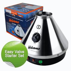 The Volcano vaporizer has is probably the best vaporizer on the market. It comes with a clear bag that is filled with cannabis vapour ready for you to inhale from. This gives you a great tasty, cool and efficient hit.