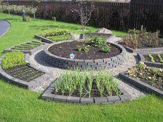 Garden Types Vegetable garden raised to the rank of art. 35 decorative gardens for inspiration Raised Vegetable Gardens, Vegetable Garden Design, Raised Garden Beds, Vegetable Gardening, Garden Types, Design Jardin, Permaculture, Garden Planning, Herb Garden