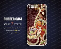 Iphone 5 case  Soft Rubber Case silicone case for by case7style, $6.98