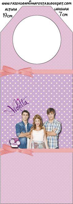 Violetta: Free Party Printables.