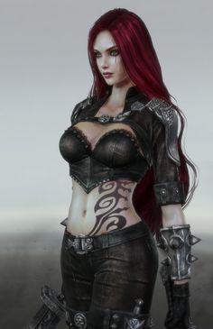 ArtStation - League of Legends - Katarina, Yoonjoo Park