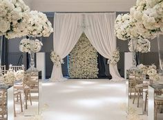 """""""Looking back on a few of our atellar wedding decor blog posts!  This beauty was created by @jordanaevents for the Cameron House wedding of Fiona and…"""""""