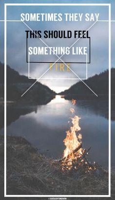 Fire - Sleeping With Sirens | credit: @5sosashtonirwin | @ashtonbrah