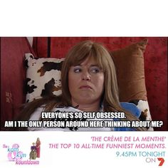 Kath and kim Sarcastic Quotes, Funny Quotes, Trixie And Katya, Trailer Park Boys, Tv Show Quotes, Animal Quotes, Funny Moments, Make Me Smile, Feel Good