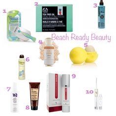 Beach Time Beauty Must Haves