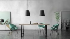 Counter Height Dining Sets, Coffee Shop Design, Design Awards, Dining Room Table, Table Settings, Bar, Living Room, Studio, Furniture
