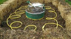 Hot Tub Water Heater Powered by the Compost Heap? That is some seriously appropriate technology! #greenenergy #appropriatetechnology #peoplepower