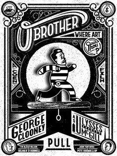 O Brother Where Art Thou Poster design.