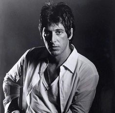 """Al Pacino. Taken by photographer Bill Gold for """"Dog Day Afternoon"""" 1975"""
