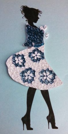 Quilling and Silhouettes with Maria - $25.00 - Kept Creations