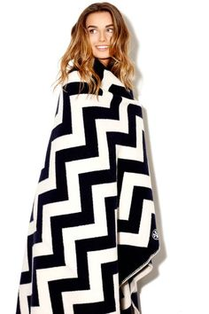 Obsessed. http://www.toryburch.com/CHEVRON-BLANKET/31117001,default,pd.html?dwvar_31117001_size=OS&dwvar_31117001_color=415&start=2&q=blanket