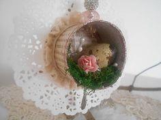 tinuszDecorArt / Shabby hniezdočko