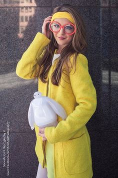 Cosplayer: Noodlerella Character: Honey Lemon From: Big Hero 6