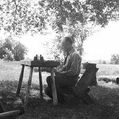 Learn more about Aldo Leopold, the father of the modern environmental movement and the man behind the Leopold Bench. | From Organic Gardening