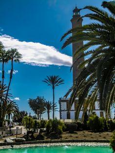 Faro de Maspalomas Clouds, Outdoor, Maspalomas, Light House, Lighthouse, Road Trip Destinations, Destinations, Viajes, Outdoors