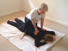 Shiatsu allows the receiver to relax deeply and get in touch with their own healing abilities.