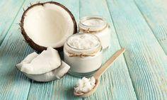 óleo de coco cosmético natural