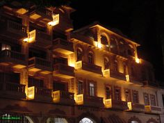 Fachada del Hotel Colonial en el 3 veces heroico puerto de Veracruz
