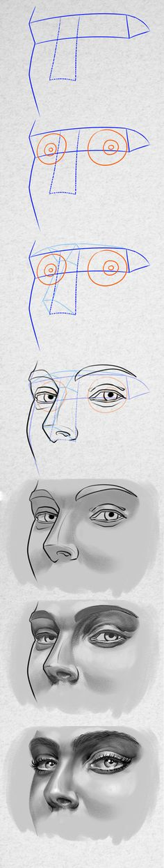 How to draw realistic eyes the right way by PitGraf on DeviantArt