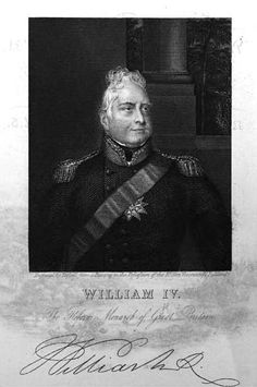 A short biography of William IV, Duke of Clarence, third son of George III and King of England from King William Iv, Victoria's Children, Queen Victoria Children, House Of Stuart, Royal King, Right To Vote, Regency Era, British Royals, Georgian
