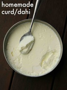 how to make curd | how to make yogurt | dahi recipe | thick curd recipe with step by step photo and video recipe. indian recipes deals with myriad dairy products in its curries, desserts, mains and snacks. however one of the most important dairy product is dahi or curd or yoghurt which in turn lead to other dishes from it. in this recipe post lets learn how to make a thick curd or homemade set curd with fresh cream milk.