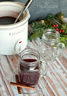 Hot Spiced Wine--Easy and makes the house smell wonderful!