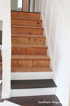 Superb Week 20: How To Install New Stair Treads | Garage Stairs, Stair Treads And  Basements