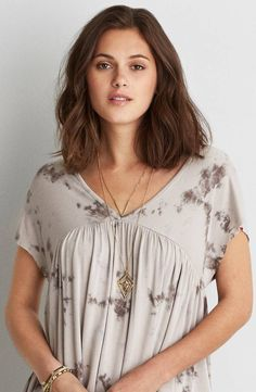 AEO Soft and Sexy Babydoll Tee by  American Eagle Outfitters |  Shop the AEO Soft and Sexy Babydoll Tee and check out more at AE.com.