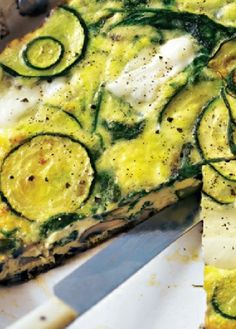 Low FODMAP Recipe and Gluten Free Recipe - Zucchini, potato & mint frittata http://www.ibs-health.com/low_fodmap_zucchini_potato_mint_frittata.html
