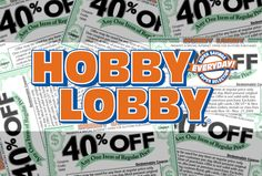 Past Hobby Lobby Coupon Codes