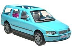 Barbie Doll Family Car   Thread: Barbie's happy family v70 volvo