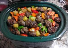 Pineapple sweet and sour meatballs Recipe -  Yummy this dish is very delicous. Let's make Pineapple sweet and sour meatballs in your home!