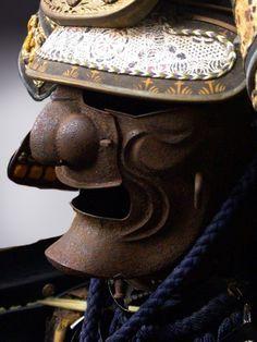 http://NinjutsuDensho.com http://Twitter.com/NinjutsuDensho http://Facebook.com/NinjutsuDensho Samurai Helmet, Samurai Armor, Battle Dress, Us Armor, Asian History, Japanese Costume, Kendo, Japan Art, Japanese Artists