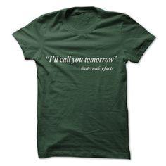 I'll Call You Tomorrow