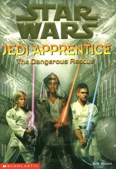 Jedi Apprentice: The Dangerous Rescue is the thirteenth in a series of young reader novels that chronicle the adventures of Qui-Gon Jinn and Obi-Wan Kenobi prior to Star Wars: Episode I The Phantom Menace. Star Wars Novels, Star Wars Books, First Jedi, Saga, Groups Poster, Lando Calrissian, Galactic Republic, Star Wars Comics