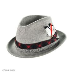 San Marino Stingy Brim Fedora Hat  available at #Brighton