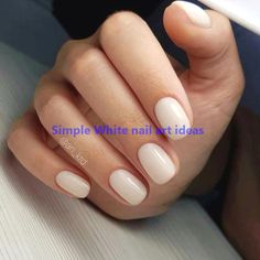 - Best ideas for decoration and makeup - White Nail Art, White Nails, White Nail Designs, Nail Art Designs, Design Tutorials, Design Ideas, Prom Nails, Nail Art Hacks, Pure Products