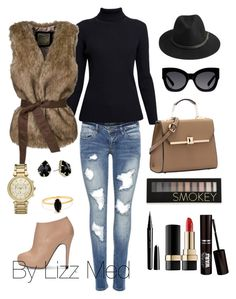 """""""Sunday perfect"""" by lizz-med ❤ liked on Polyvore featuring Rumour London, BeckSöndergaard, Karen Walker, Michael Kors, Kendra Scott, Bing Bang, Forever 21, Marc Jacobs and Dolce&Gabbana"""