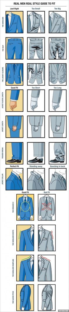 Real Men Real Style Guide To Fit