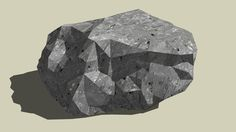 Large preview of 3D Model of Rock