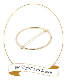 Hair Accessory Must-Have: Hair Brooch